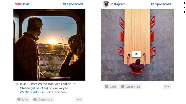An early peek at Instagram's new ads show they are formatted just like normal posts but with a