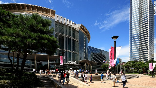 COEX convention center is the most popular venue for conferences in Seoul. It's connected to Asia's largest underground mall.