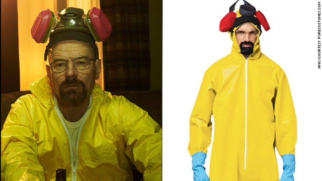 "The show may be over, but that doesn't mean you can't dress up like your favorite meth dealer, Walter White from ""Breaking Bad."""