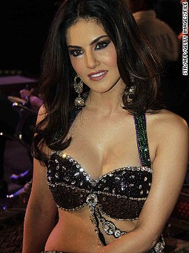 In Bollywood, a former pediatric nurse trainee turned porn star can launch a mainstream acting career. That'd be Sunny Leone (pictured), the most searched celebrity on the Internet.