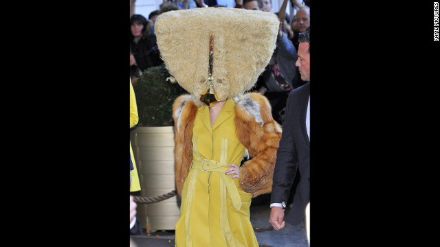 Some observers might've cried fowl when they spotted Lady Gaga's outfit in Berlin on October 24.