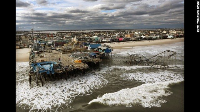 Photos: Hurricane Sandy then and now