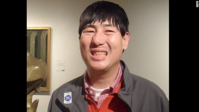 Taeheung Kim became separated from his tour group while visiting New York's Metropolitan Museum of Art.