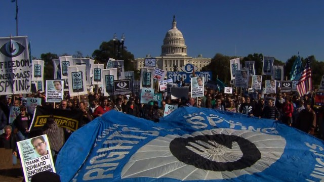 Anti-NSA rally targets Washington