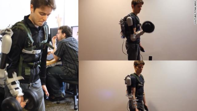 Titan Arm, el poderoso brazo biónico