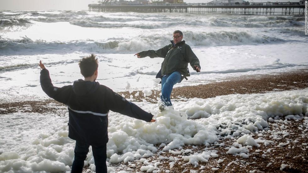 Fotos: Temporal en Europa