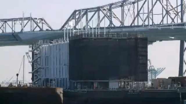The four-story floating Google showroom in San Francisco Bay has run into permit problems.