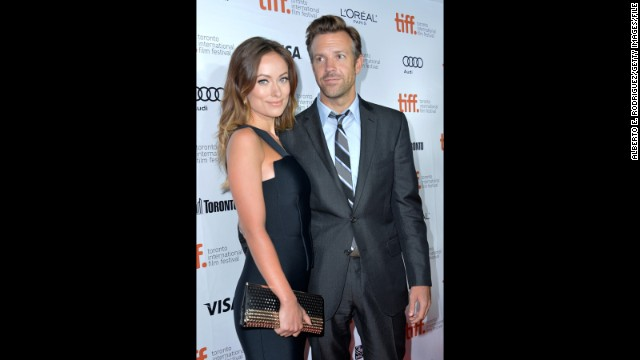 Olivia Wilde and Jason Sudeikis announced in October 2013 that they're expecting their first child together.