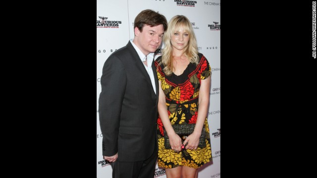 Mike Myers and his wife, Kelly Tisdale, are also expecting their second child together. The couple welcomed son Spike in 2011.