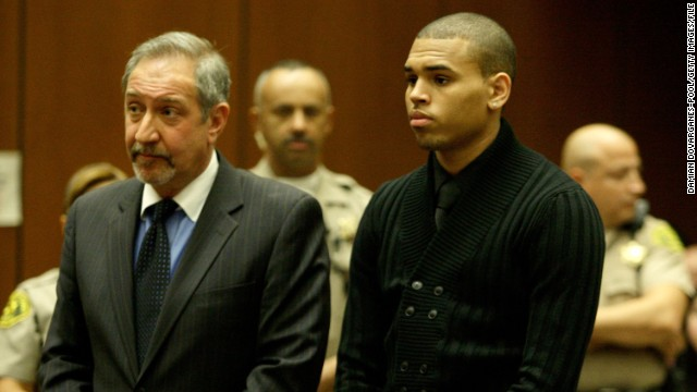 "<strong>March 2009:</strong> <a href='http://www.cnn.com/2009/SHOWBIZ/Music/02/15/chris.brown/index.html'>Brown apologized a week after his arrest.</a> ""Words cannot begin to express how sorry and saddened I am over what transpired,"" he said. ""I am seeking the counseling of my pastor, my mother and other loved ones and I am committed, with God's help, to emerging a better person."" He was formally charged with felony counts of assault and making criminal threats that March 5."