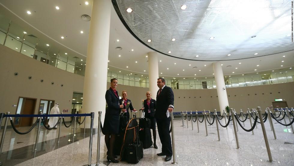 Así es el aeropuerto de Dubai