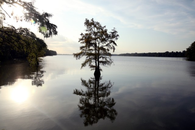 Lake Providence largely divides rich from poor in rural Louisiana
