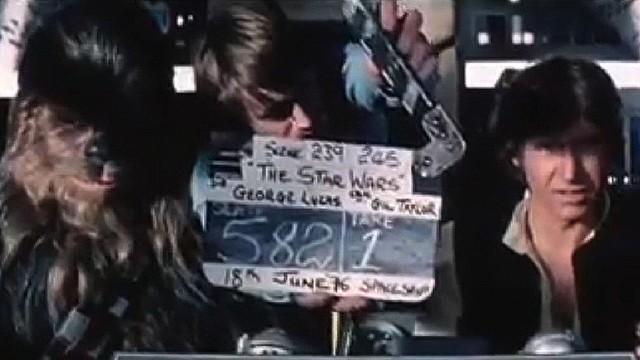 Salen a la luz 'bloopers' de 'Star Wars' 36 años después