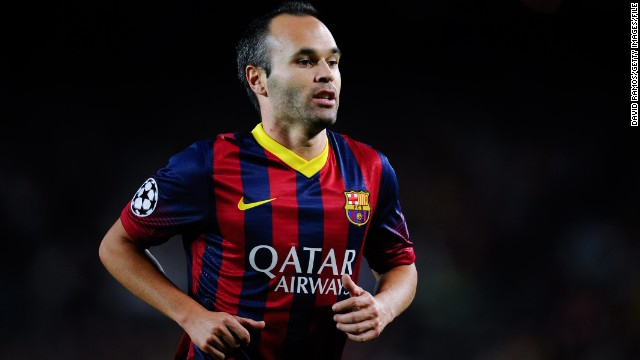 Andres Iniesta (Barcelona & Spain) CNN rating: Longshot Iniesta's pedigree and talent makes him one of the finest players on the planet, but the midfielder will likely suffer as a result of Barcelona's crushing defeat at the hands of Bayern in the Champions League semifinals.