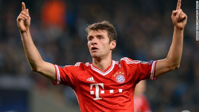 Thomas Muller (Bayern Munich & Germany) CNN rating: Contender The Bayern youth academy graduate has forged a reputation as one of the world's most clinical finishers. Muller will hope to add the Ballon d'Or to the Golden Boot he won at the 2010 World Cup in South Africa.