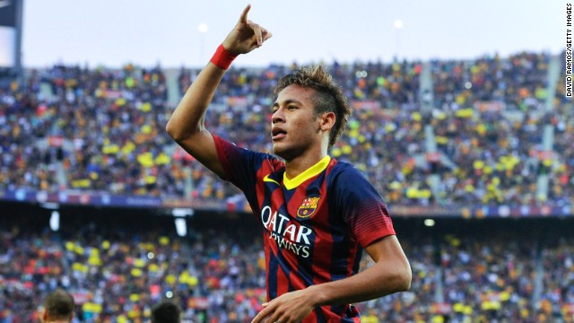 Neymar (Barcelona & Brazil) CNN rating: No chance Neymar's goal in the recent El Clasico match between Barca and Real Madrid showed he is starting to settle in European football. A World Cup win in his homeland with Brazil could see Neymar mount a convincing challegne for the 2014 award.