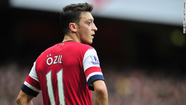 Mesut Ozil (Arsenal & Germany) CNN rating: No chance Ozil has delighted Arsenal fans since swapping Real Madrid for London in August, but the German needs to lead the Gunners to glory if he is to challenge for individual honors.