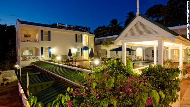 Although many visitors to the Caribbean island of St. Lucia spend a lot, that doesn't have to be the case at the sweet family-run Auberge Seraphine on the northwest coast.