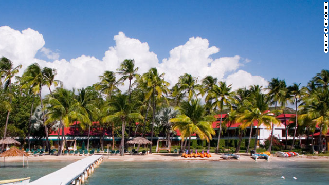 Copamarina Beach Resort & Spa is tucked away on the Puerto Rico's less-explored southern coast.