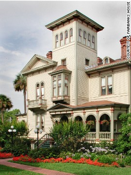 Fairbanks House on Florida's Amelia Island combines tropical beauty with Southern charm.