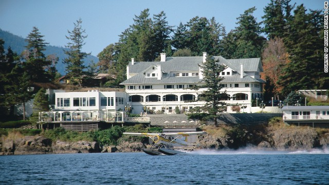This Orcas Island resort, part of Washington's San Juan Islands, overlooks East Sound and Cascade Bay.