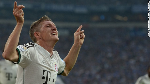 Bastian Schweinsteiger (Bayern Munich & Germany) CNN rating: Longshot Bastian Schweinsteiger has long been a rock at the base of the Bayern midfield, but the playmaker looks likely to be outshone b