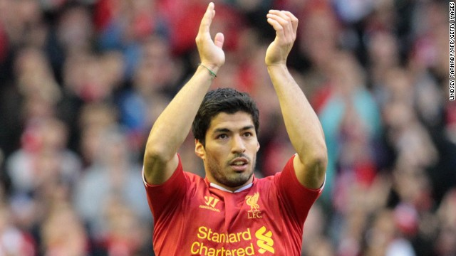 Luis Suarez (Liverpool & Uruguay) CNN rating: No chance Suarez's talent means he warrants a place on any list of the world's best footballers. Unfortunately his temperament often gets in the way. The Uruguayan has received lengthy bans for racism offenses and biting opponents.