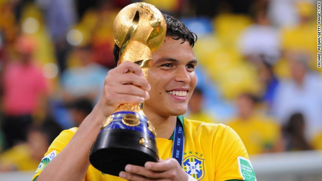 Thiago Silva (Paris Saint-Germain & Brazil) CNN rating: No chance The defender led Brazil to Confederations Cup success in 2013. If he can repeat the feat as captain of his country at next year's World Cup, he won't be far away from the 2014 honor.
