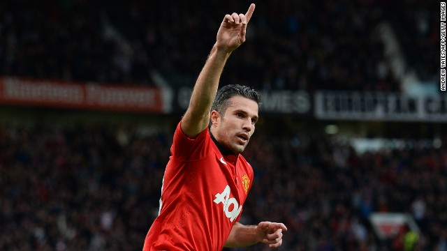 Robin van Persie (Manchester United & Netherlands) CNN rating: No chance The Dutchman's goals propelled United to the Premier League title in convincing fashion, but the Old Trafford club's failings in Europe meant he struggled to make an impact on the continent.