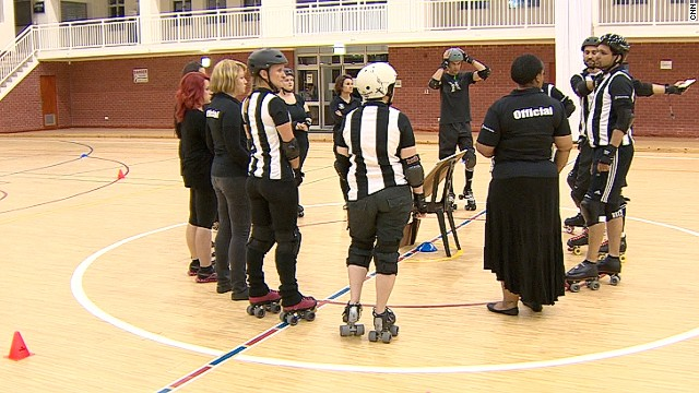 The Cape Town Rollergirls is a women-only league, with men only involved in a coaching or refereeing capacity.
