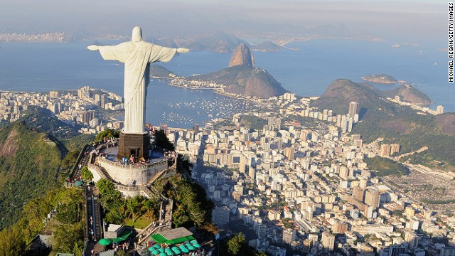 "This one's a no-brainer -- the 2014 World Cup in arguably the most soccer-obsessed country in the world makes for a remarkable travel experience. ""Tack on a recession-dodging economy and boom! Brazil is the belle of the ball,"" says Lonely Planet on why Brazil tops the list of countries to visit."
