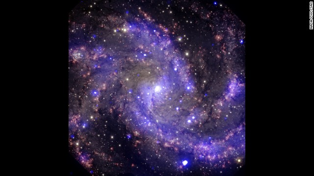 "In the past century, eight supernovas have been observed in the arms of NGC 6946, a galaxy about 22 million light years away from Earth. NGC 6946 is also nicknamed the ""Fireworks Galaxy."""