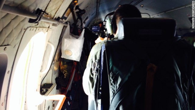 CNN has not identified any of the six Frontex crew aboard the flight for fear they could become the target of smuggling gangs.