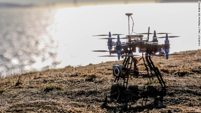 UAV technology company <a href='http://3drobotics.com/' target='_blank'>3D Robotics</a> has developed the X8, a copter that can take high-resolution videos and photographs, an do detailed mapping. 3D Robotics says the user will be able to create, fly and repeat missions for data measurement.