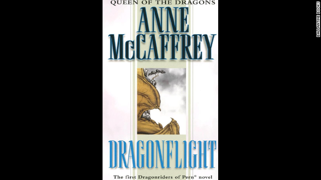 "Books from Anne McCaffrey's Dragonriders of Pern series struck a chord with many readers and inspired a lifelong love of the fantasy genre. One reader said ""Dragonsong"" from the Harper Hall trilogy was the first book she and her mother read together. ""I felt as much of an outsider as Menolly,"" <a href='http://www.cnn.com/2013/10/07/living/best-young-adult-books/index.html#comment-1074511758'>she wrote</a>. ""Our love for Pern and all things dragon really cemented out relationship. ... Even though my mother is gone, I can pick up those books again and relive all the wonderful times we had talking about them."""