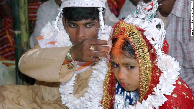Time to end child marriage