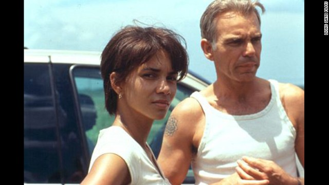 "Halle Berry and Billy Bob Thornton dealt with some heavy emotional issues in ""Monsters Ball"" while engaging in some passion."