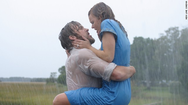 """The Notebook"" has become the gold standard for romantic movies, but one scene in particular will have viewers pausing to rewind. When Ryan Gosling's Noah and Rachel McAdams' Allie Calhoun reunite, not even pouring rain can dampen the sensual scene that follows. See a few of our other favorite sexy movie scenes:"