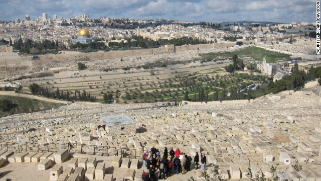 The Jewish cemetery contains Biblical kings and modern Israeli leaders such as Menahem Begin. There are also Christian and Muslim burial grounds here.