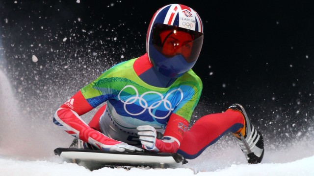 MAT's first project with Britain's Olympians, following conversations with UK Sport, was with skeleton racer Amy Wiliams, who went on to win gold at Vancouver 2010.