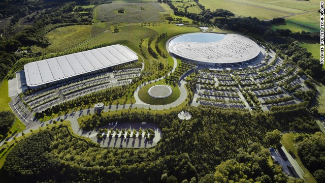 Inside McLaren\'s Winter Olympics operation