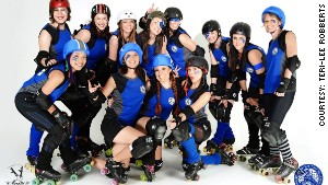 Roller girls get their skates on