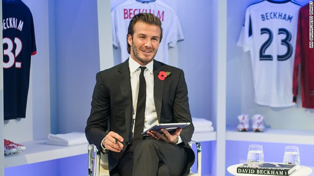David Beckham says he is desperate to continue a career in football off the pitch, after a stellar career on it.