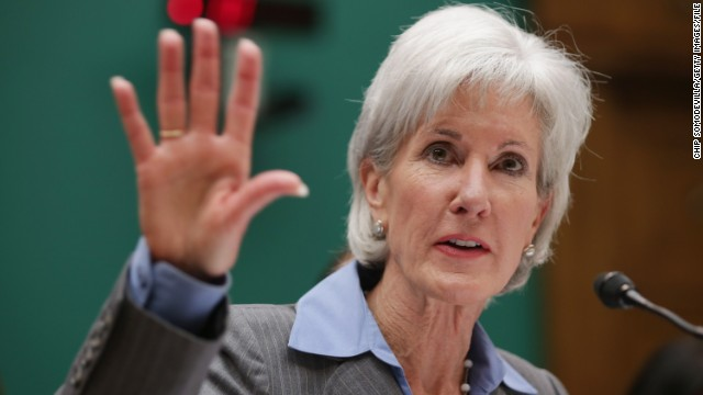 Sebelius thanks staff, warns work is far from over