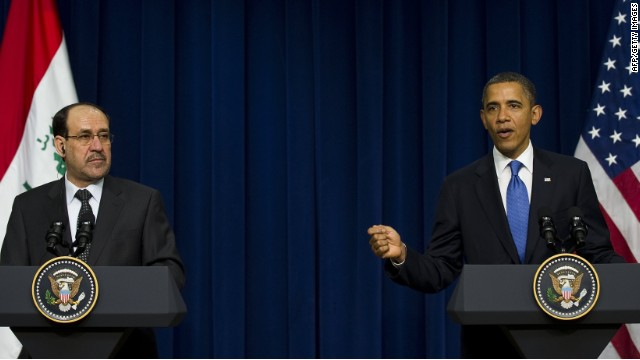 Obama, al-Maliki to address Iraq's violence spike at White House meeting
