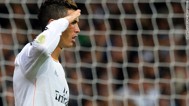 El 'comandante' Cristiano Ronaldo le dedica un gol a Blatter