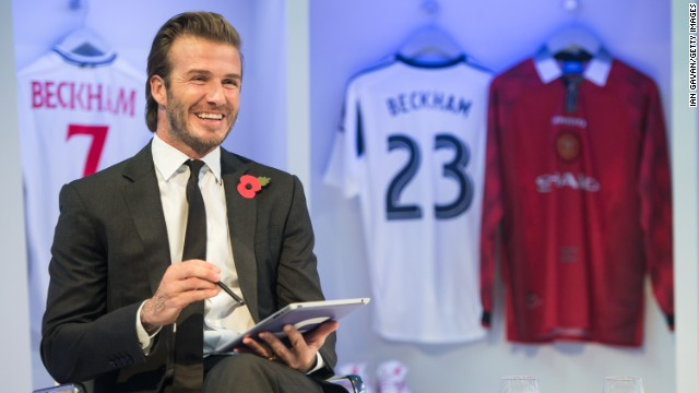 David Beckham's latest autobiography was launched via a 'global book signing' that was streamed on Facebook to entice the 30.5 million people who 'like' his page to shell out for a copy. It showcased how important social media is becoming in helping to promote new releases.
