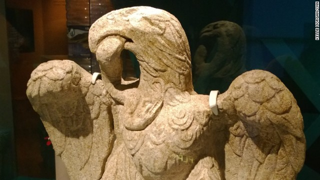 Roman eagle statue found in London