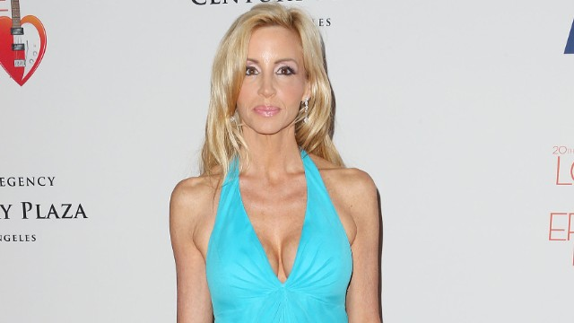 Camille Grammer, 45, began dating Dimitri Charalambopoulos, a 36-year-old fitness trainer from Texas, more than two years ago, according to court papers.