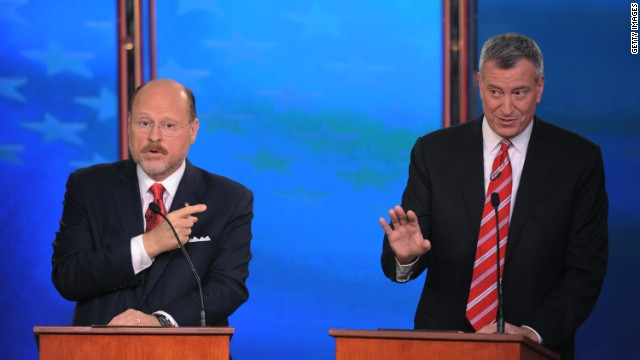 Final debate in NYC mayoral race is last chance for Republican candidate